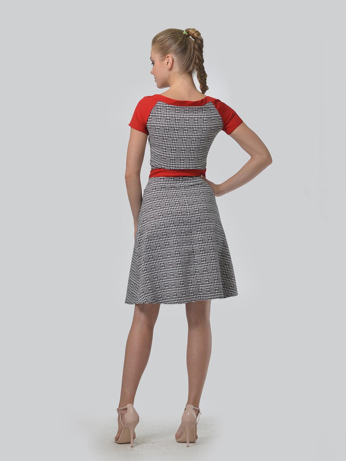 Платье в принт | 4864333 | фото 3