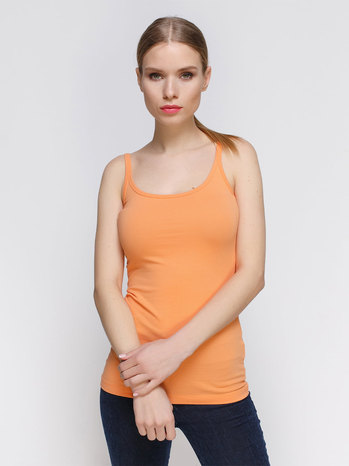 Майка оранжевая | 3782313