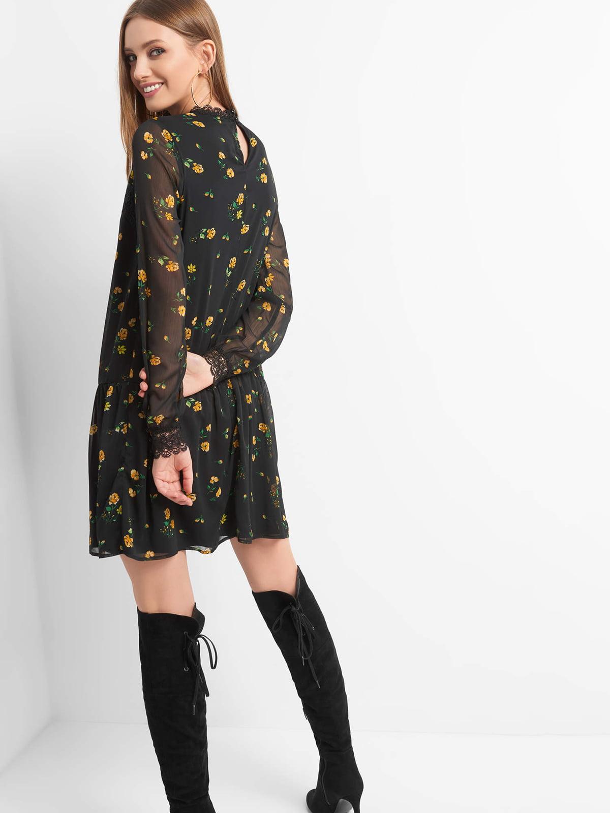 Платье в цветочный принт | 4870968 | фото 2