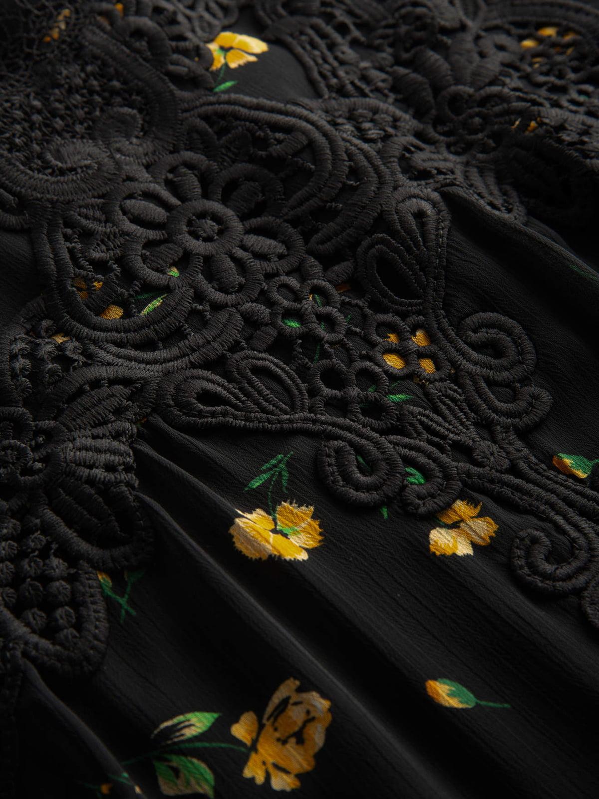 Платье в цветочный принт | 4870968 | фото 3