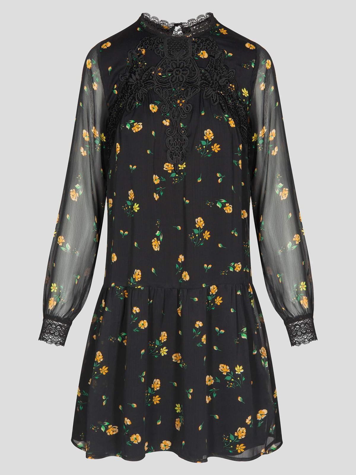 Платье в цветочный принт | 4870968 | фото 5