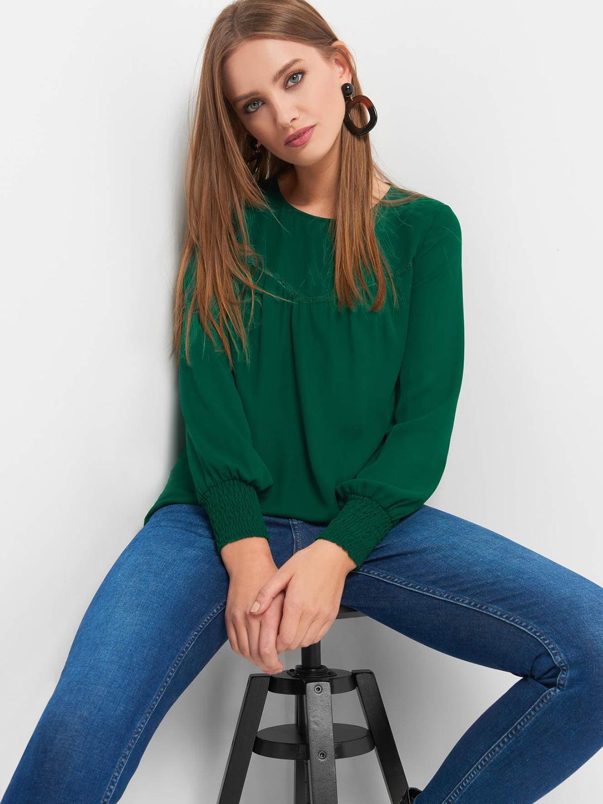 Блуза зеленая   4870984