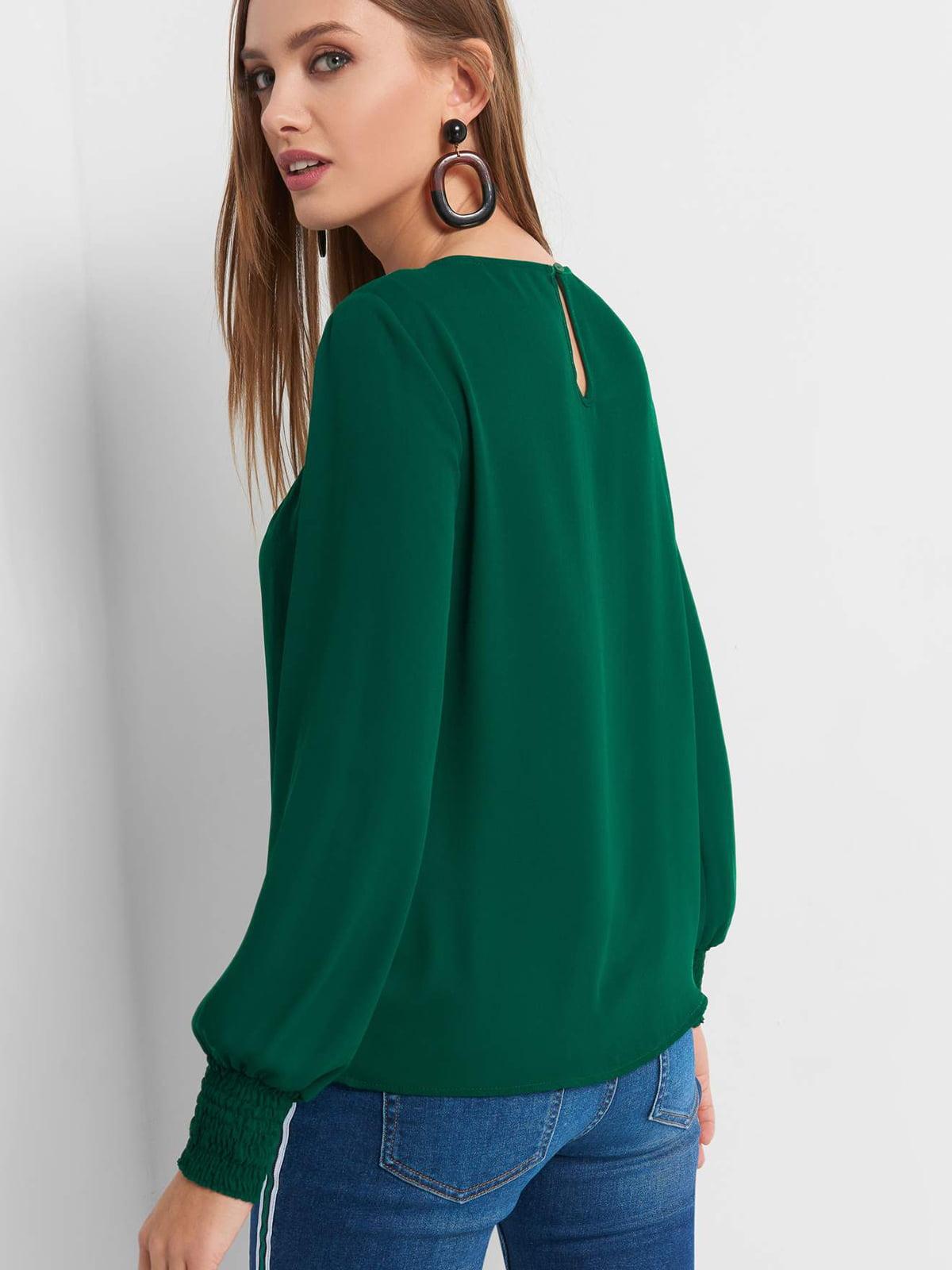 Блуза зеленая   4870984   фото 2