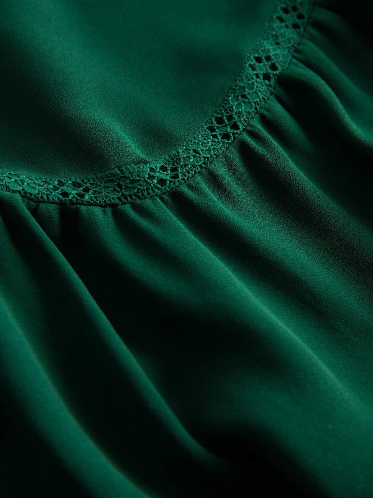 Блуза зеленая   4870984   фото 3