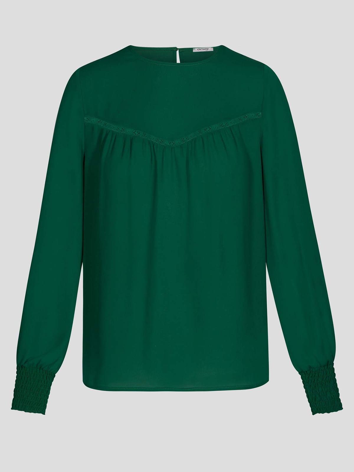 Блуза зеленая   4870984   фото 5