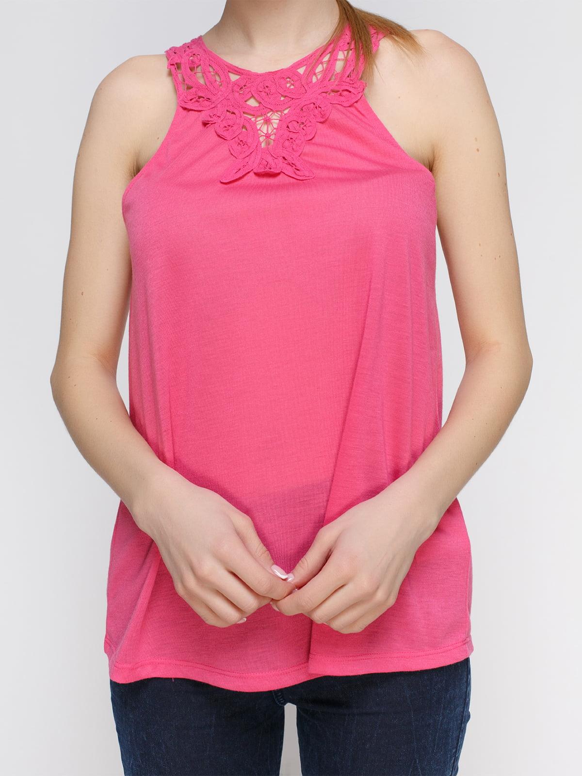 Майка ярко-розовая | 4634872 | фото 3