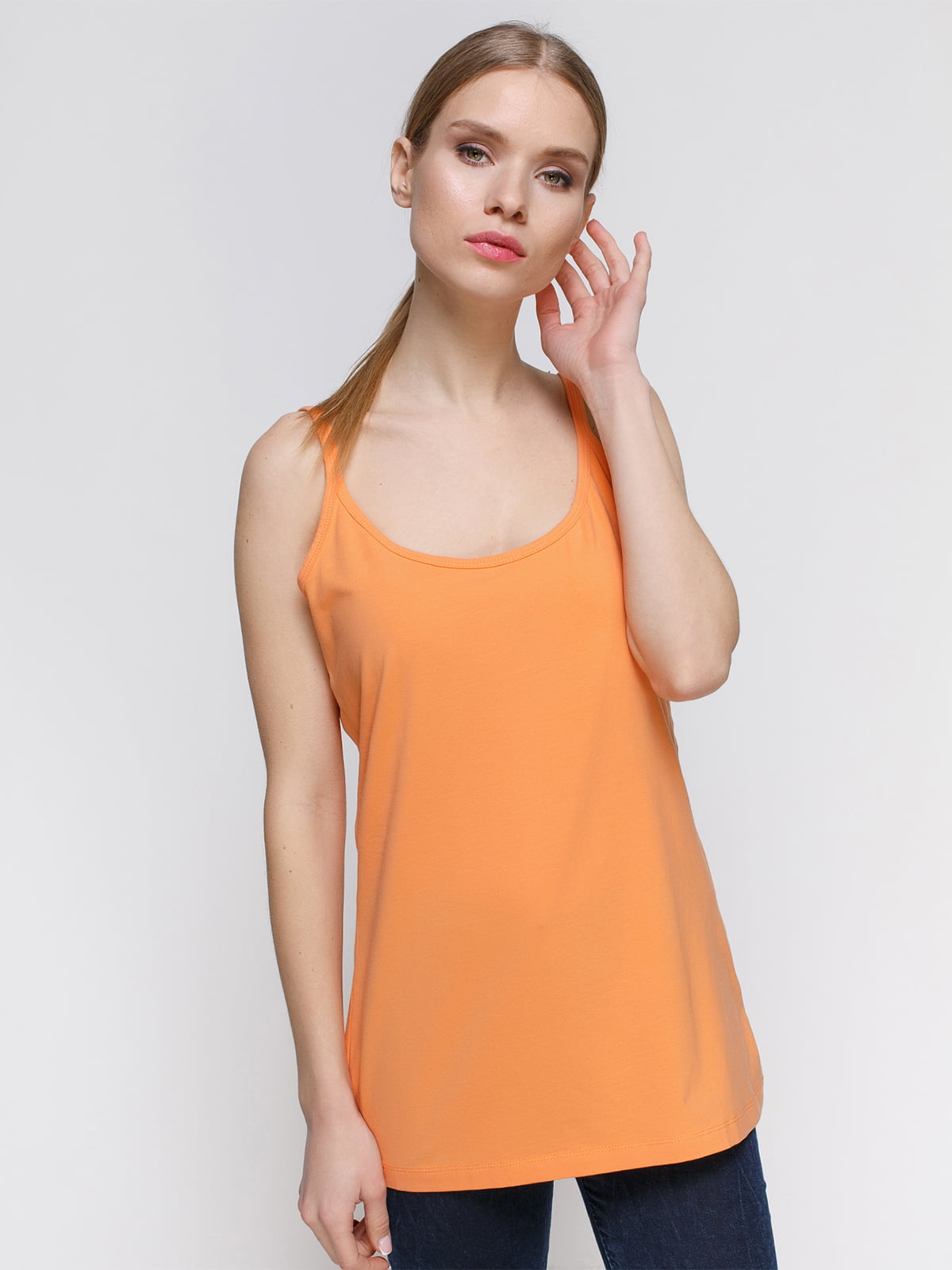 Майка оранжевая | 4542725
