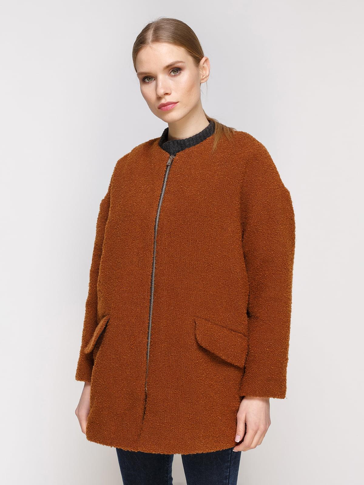 Пальто коричневе | 4791398