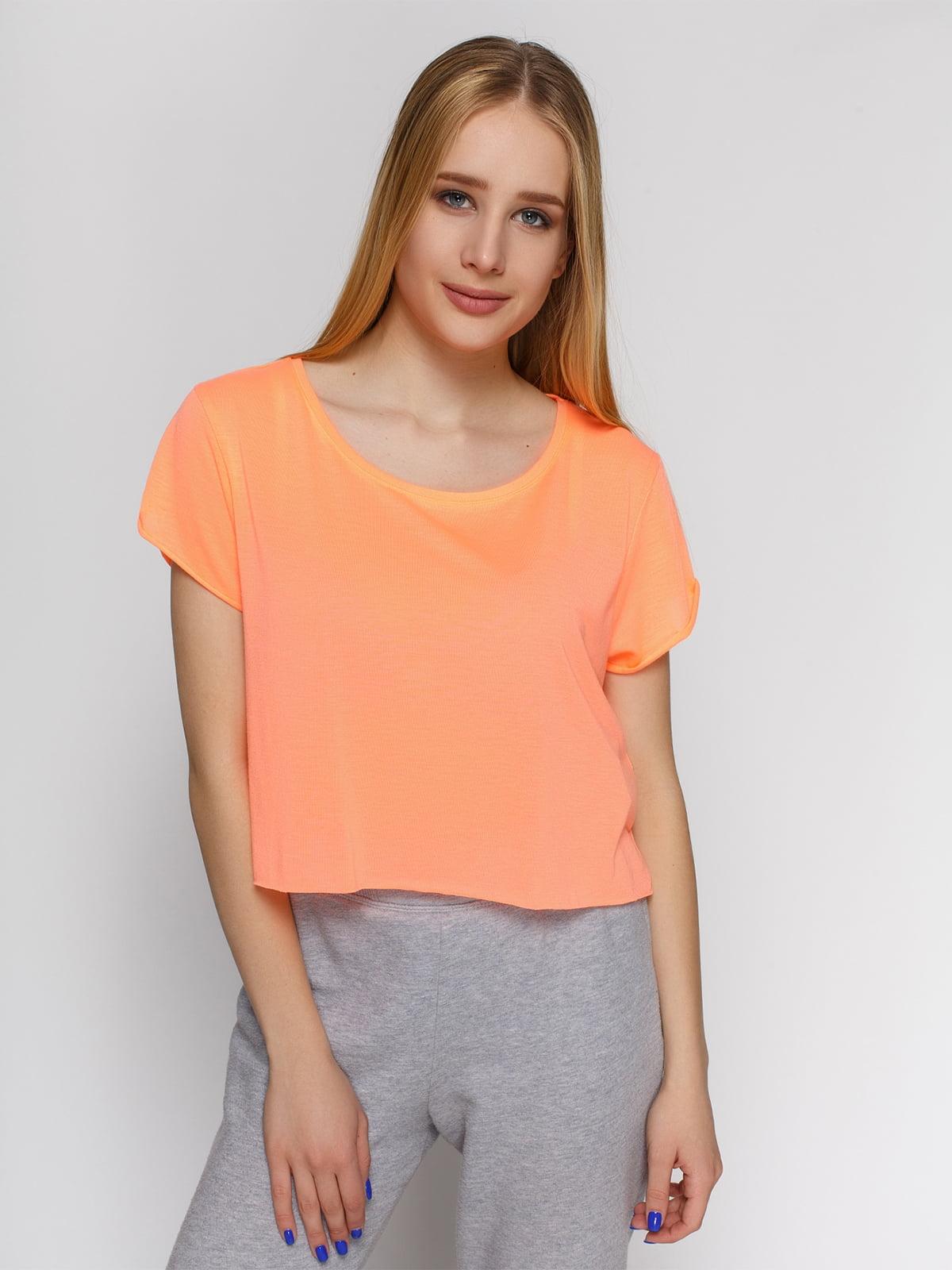 Топ персикового цвета | 3782689