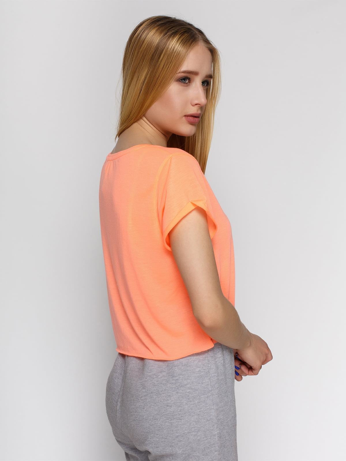 Топ персикового цвета | 3782689 | фото 2