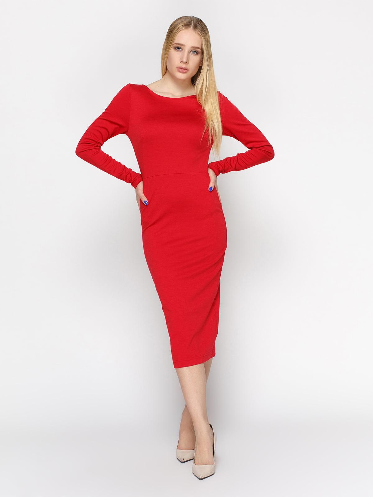 Платье красное | 4546025