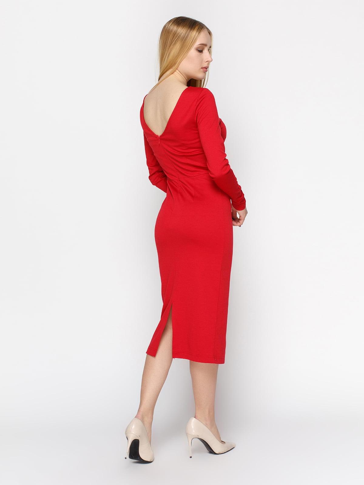 Платье красное | 4546025 | фото 2