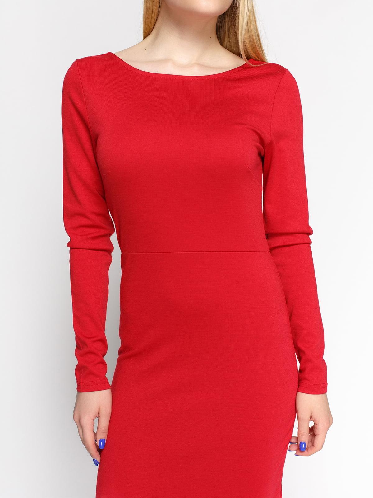 Платье красное | 4546025 | фото 3