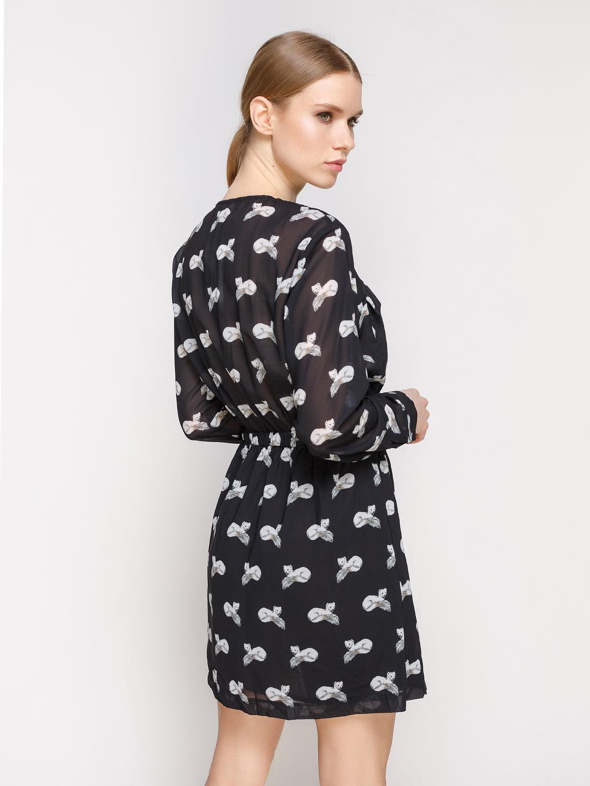 Платье в принт | 2109870 | фото 2