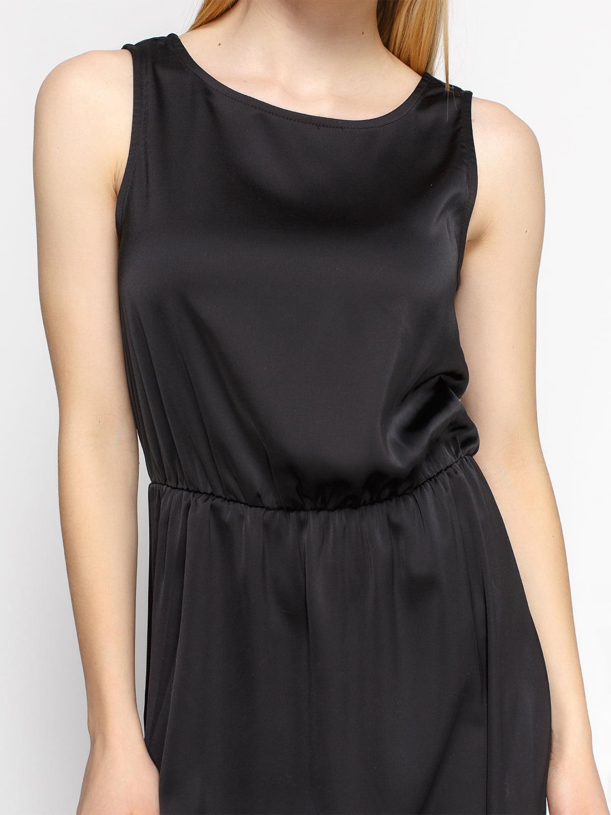 Платье черное | 4543594 | фото 3