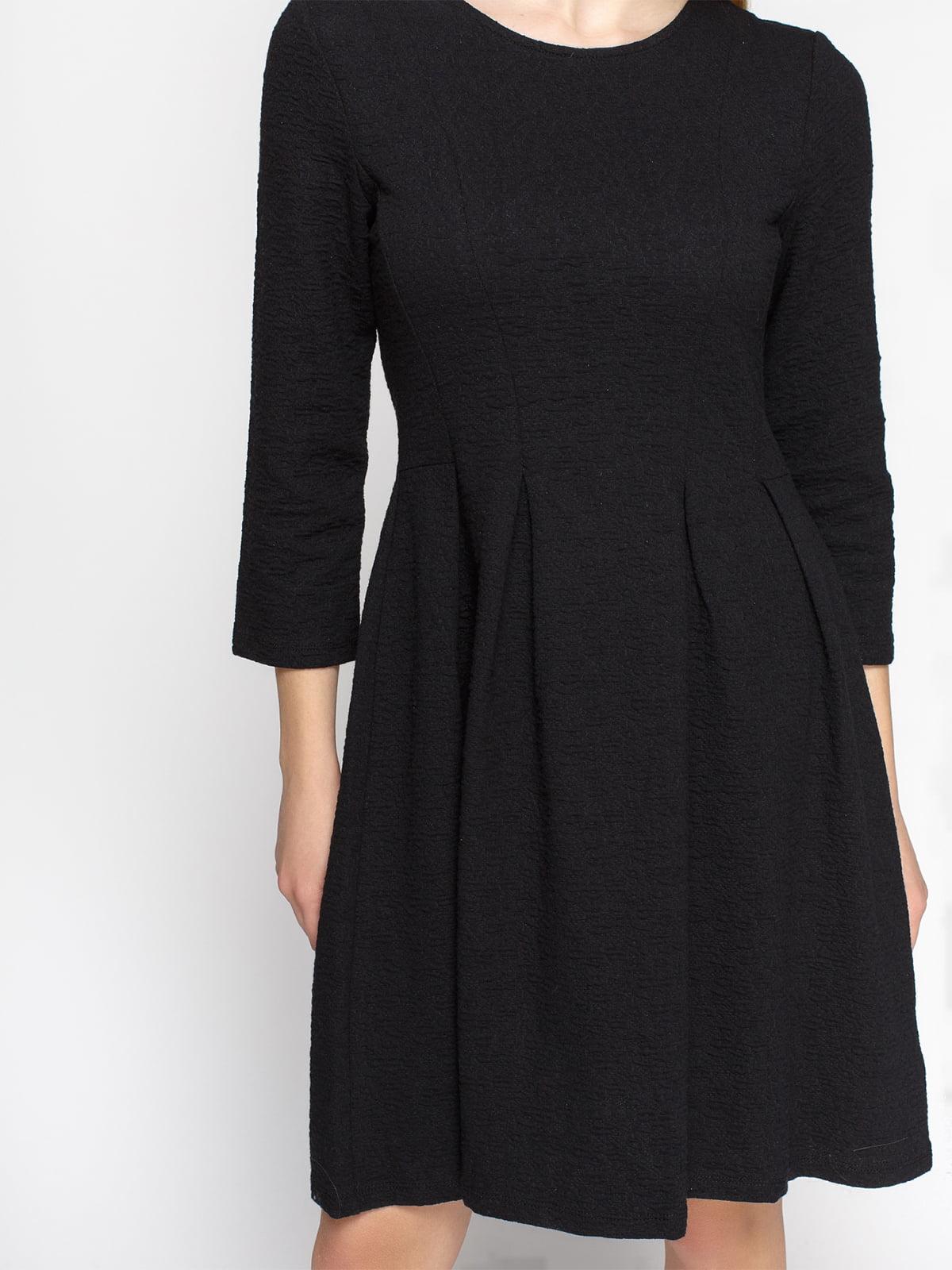 Платье черное | 4546316 | фото 3