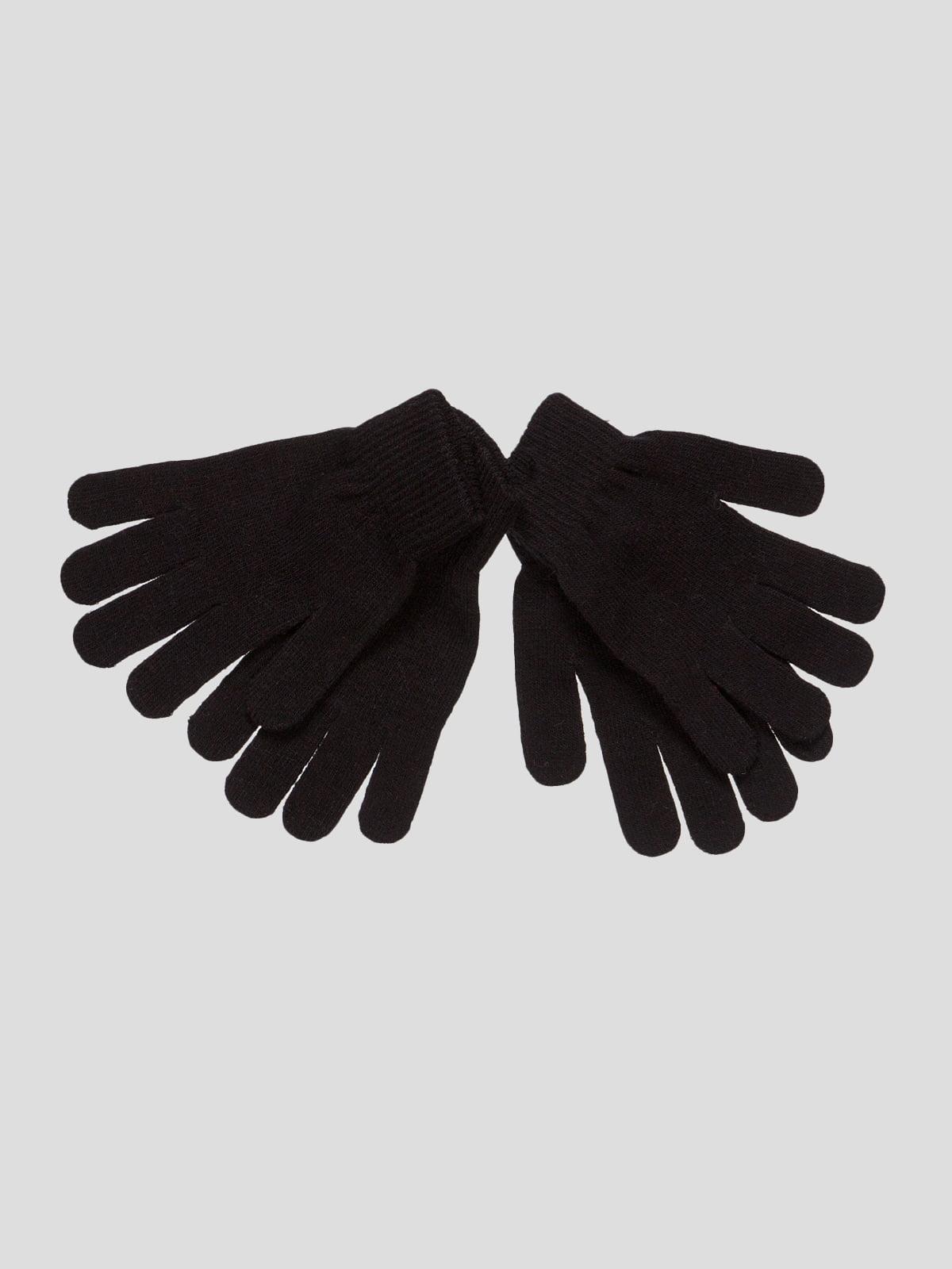 Рукавички чорні | 4636042