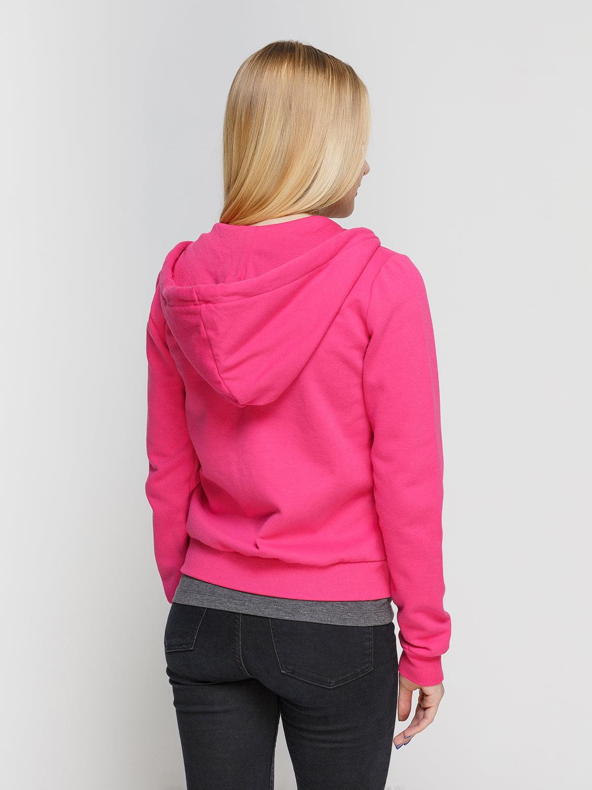 Толстовка розовая | 4546040 | фото 2