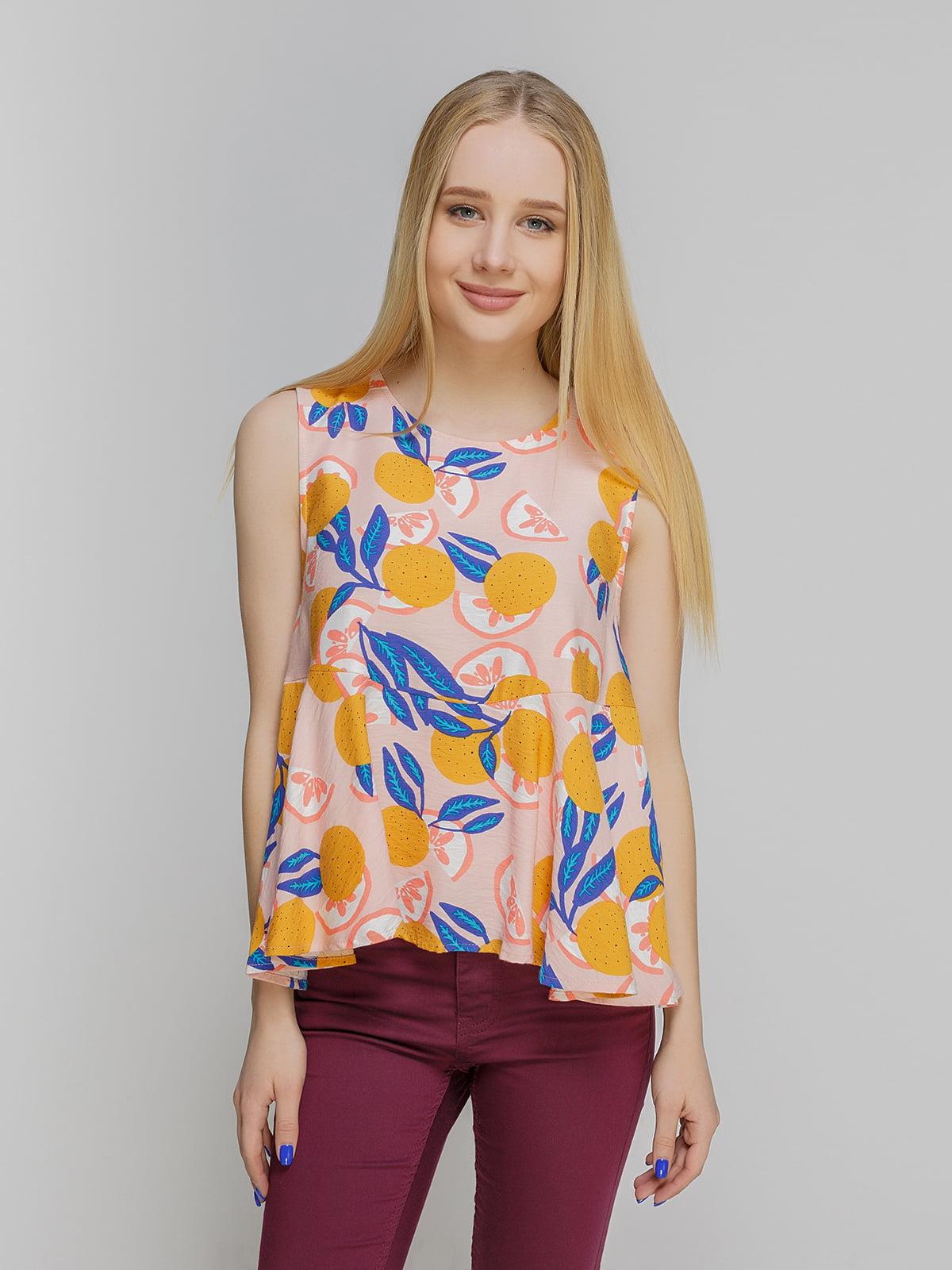 Блуза в принт | 3782973