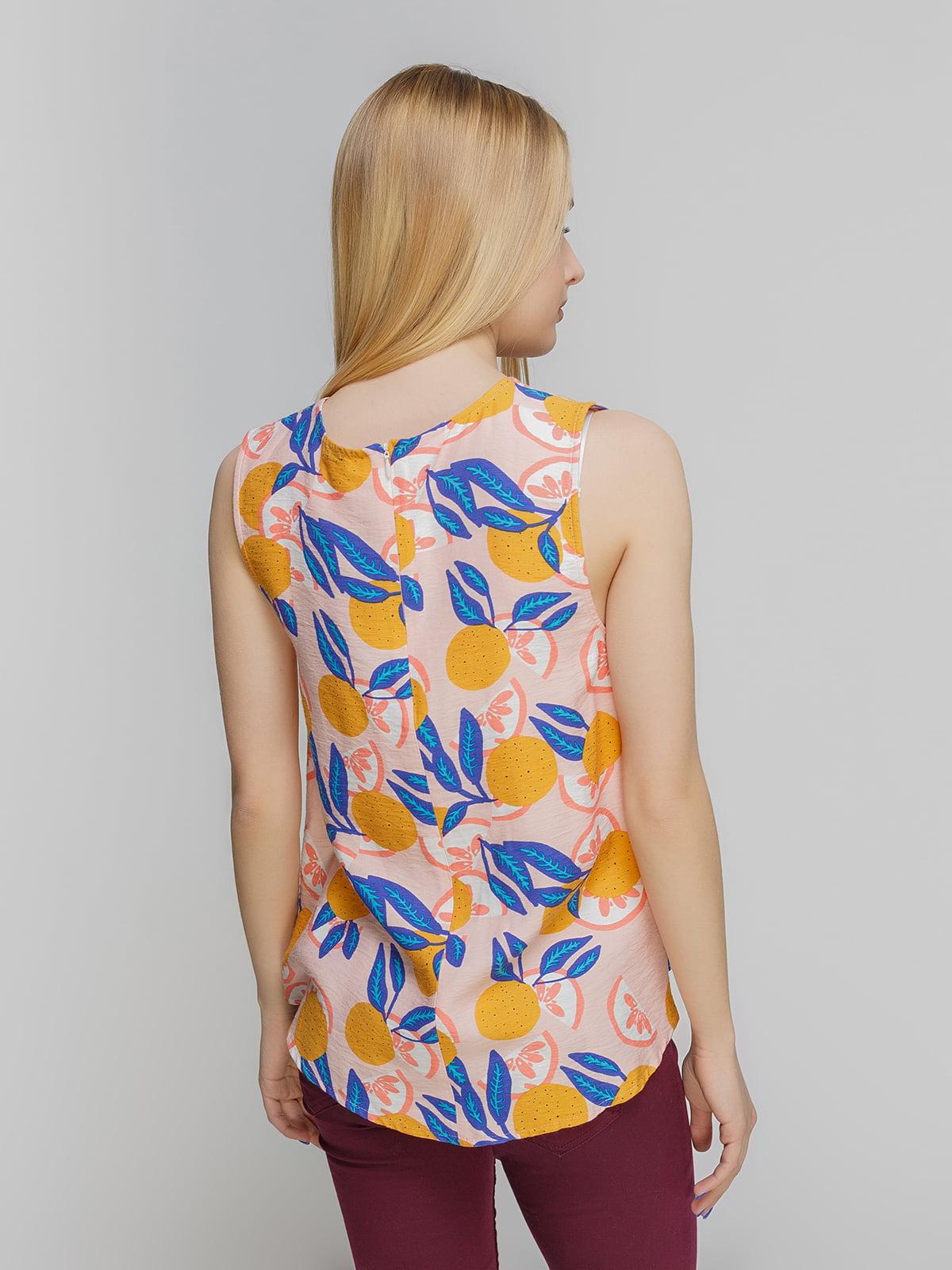 Блуза в принт | 3782973 | фото 2
