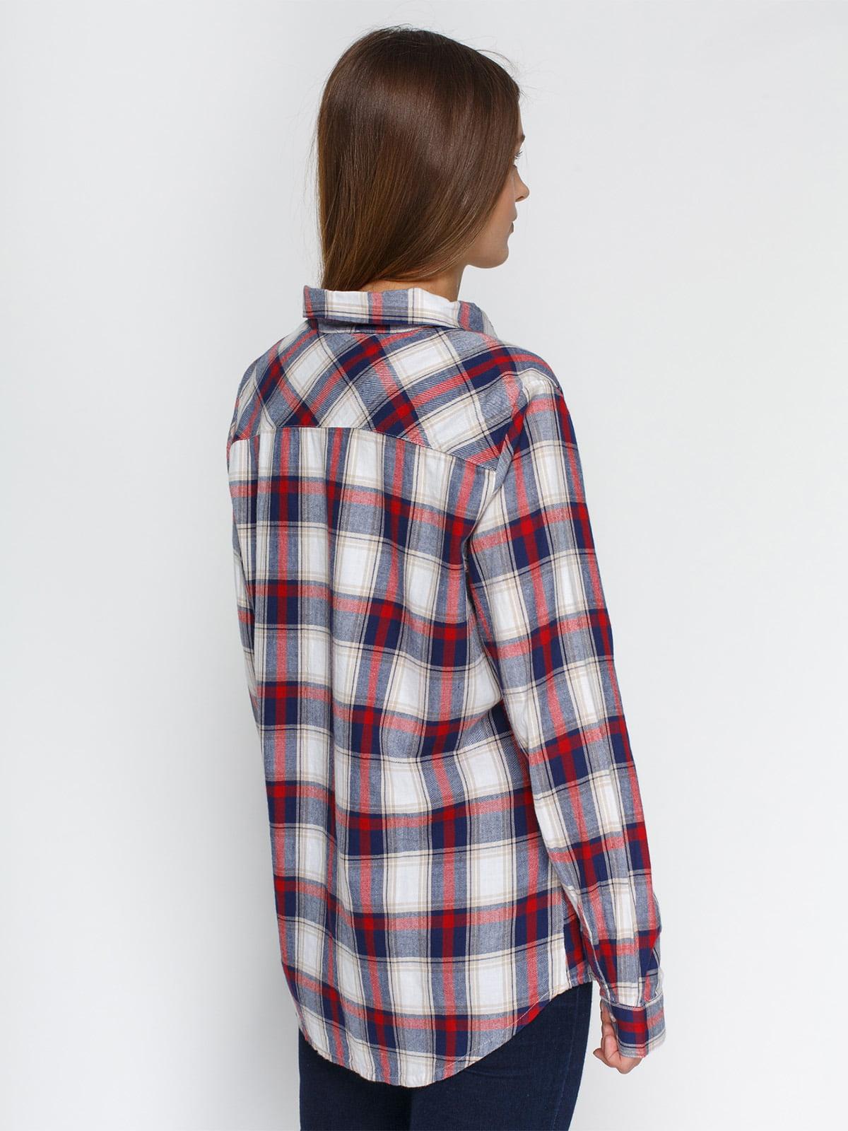 Рубашка клетчатая   4628242   фото 2