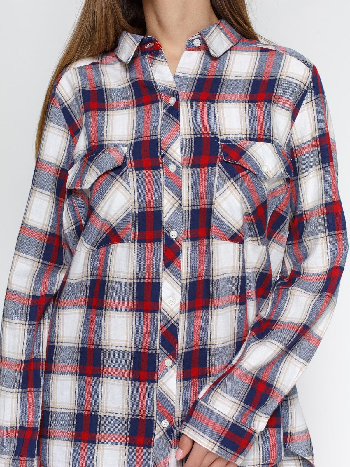 Рубашка клетчатая   4628242   фото 3