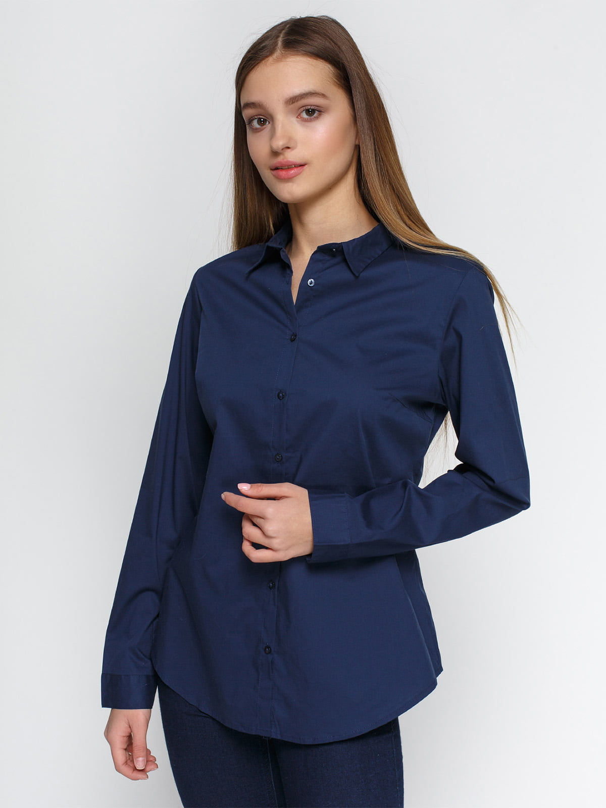 Рубашка синяя   4546609