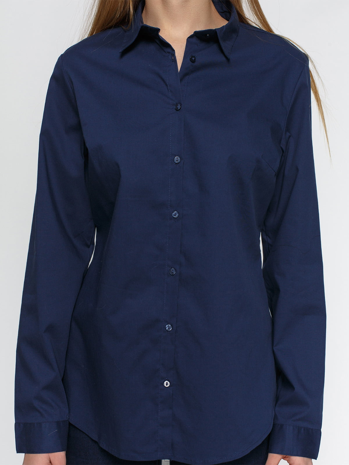 Рубашка синяя   4546609   фото 3