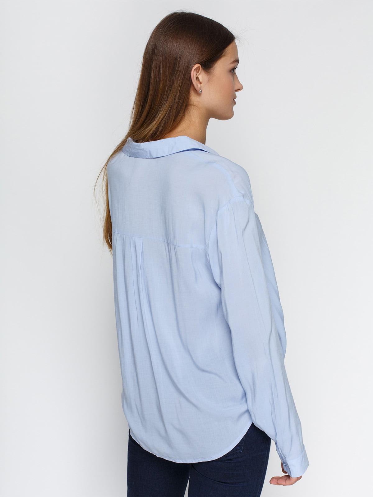Блуза голубая | 4546605 | фото 2