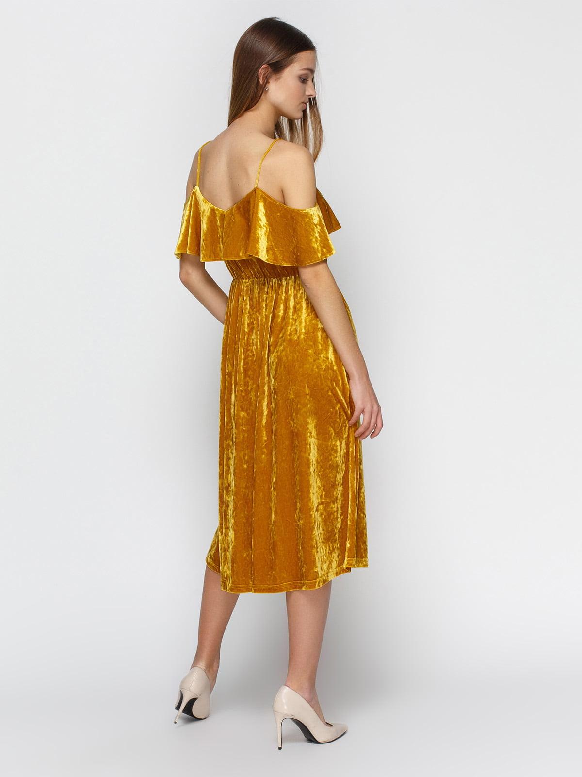 Платье желтое | 4546056 | фото 2