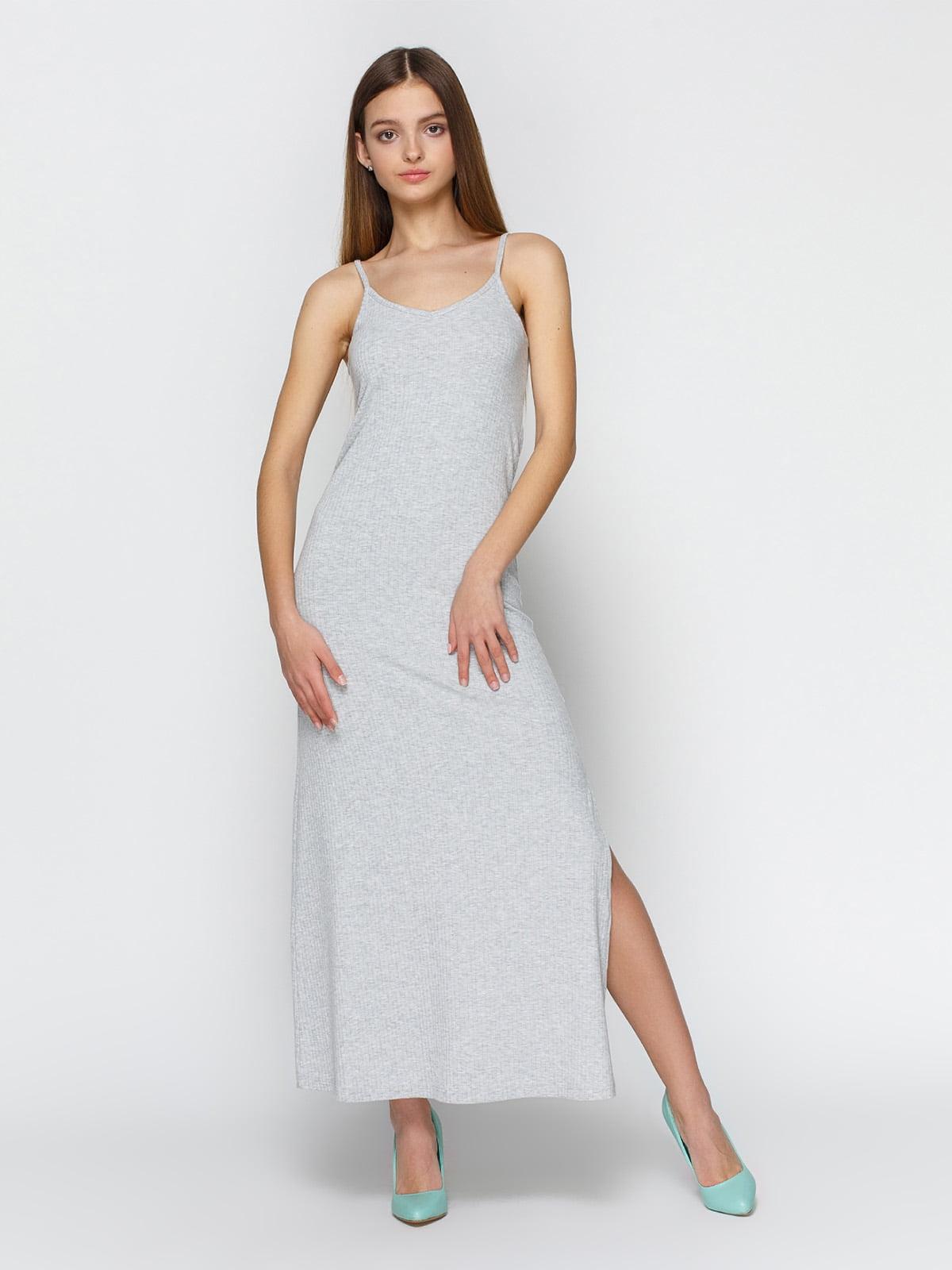 Платье серое | 3927246