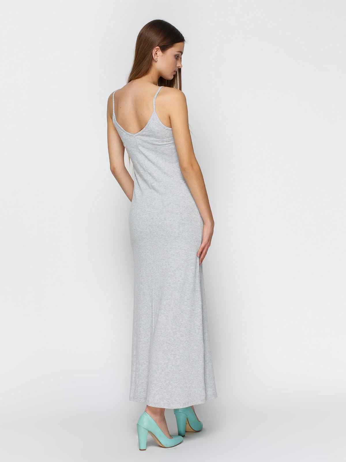 Платье серое | 3927246 | фото 2