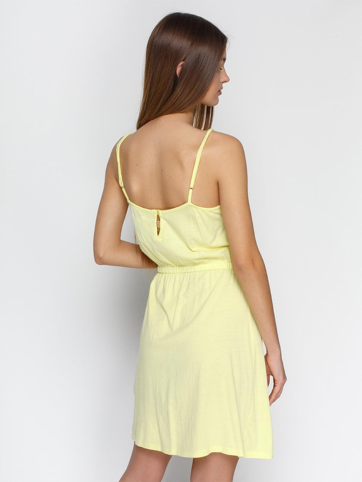 Платье желтое | 4632652 | фото 2