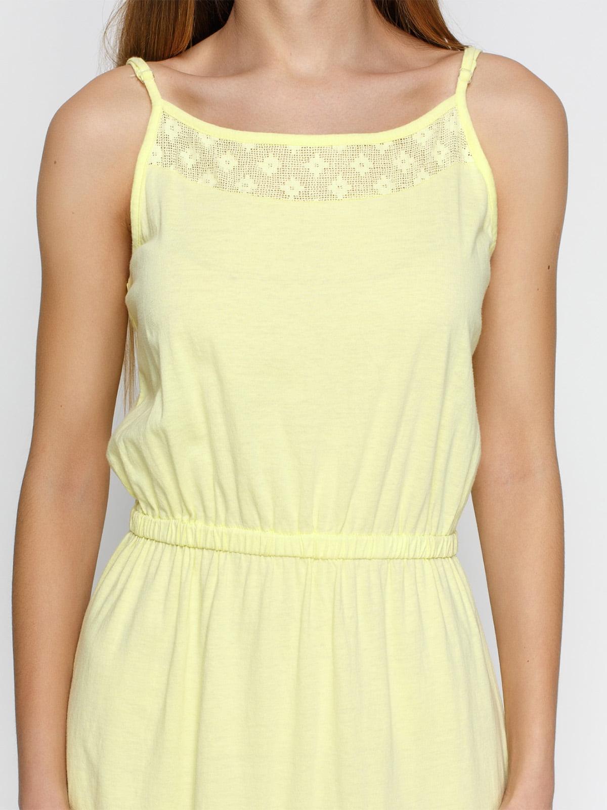 Платье желтое | 4632652 | фото 3