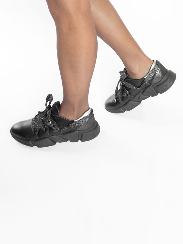 Кроссовки черные | 4822597 | фото 7