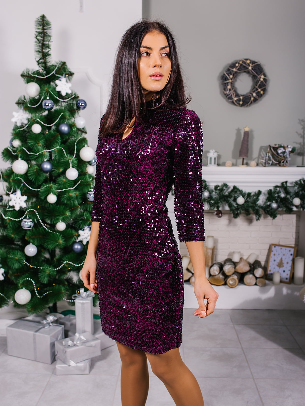Платье фиолетовое | 4872630