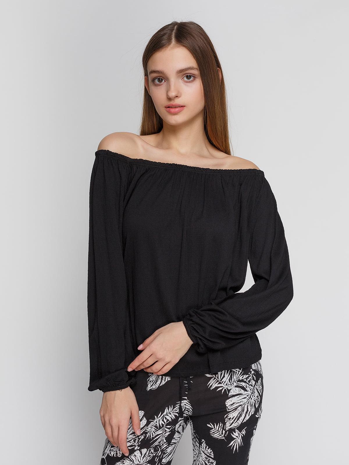 Блуза чорна | 4545591