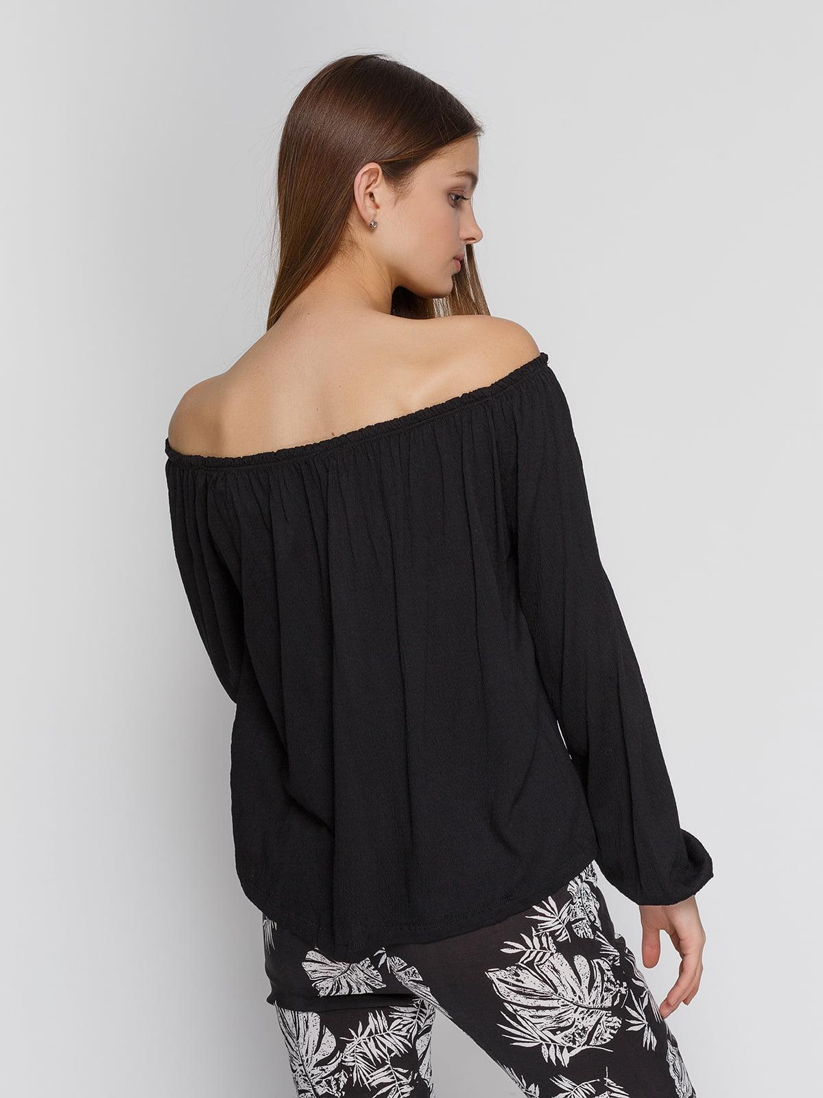 Блуза черная | 4545591 | фото 2