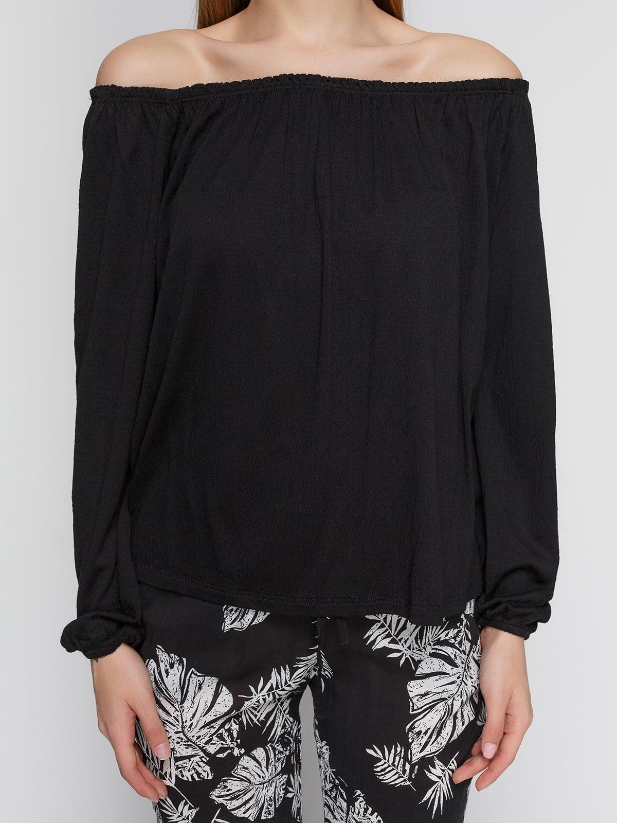 Блуза черная | 4545591 | фото 3