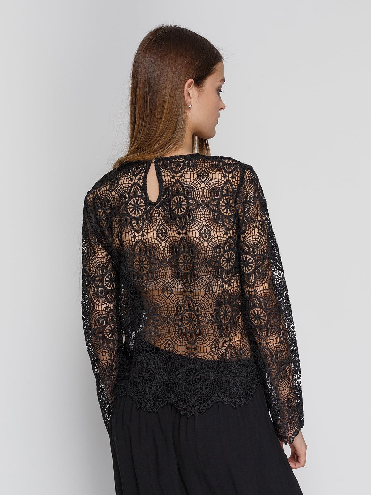 Блуза черная | 4544726 | фото 2