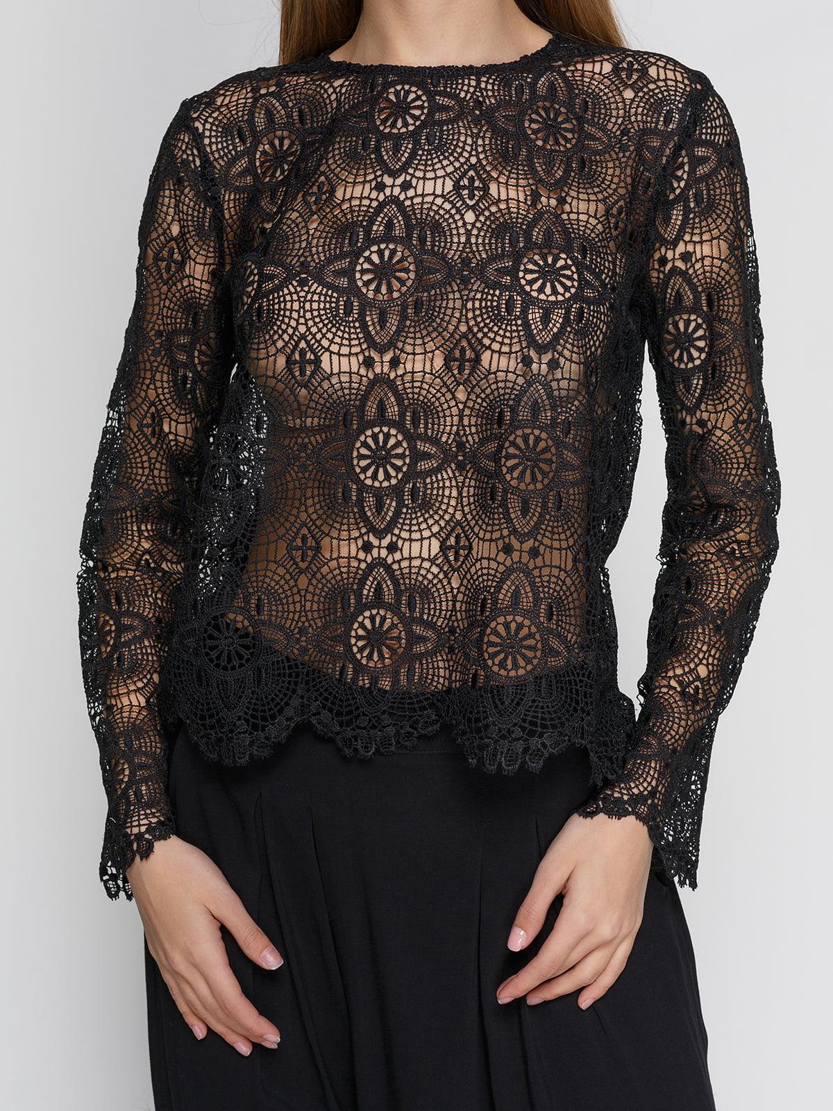 Блуза черная | 4544726 | фото 3