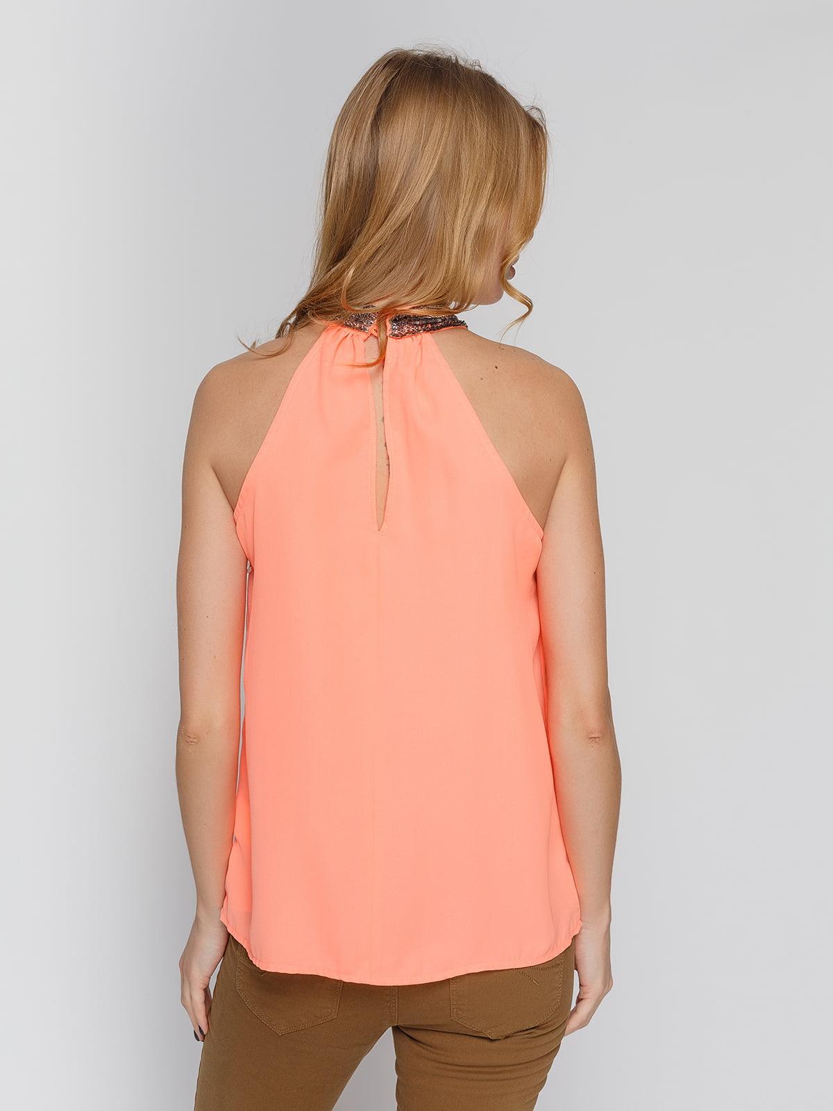 Блуза персикового цвета   4628343   фото 2