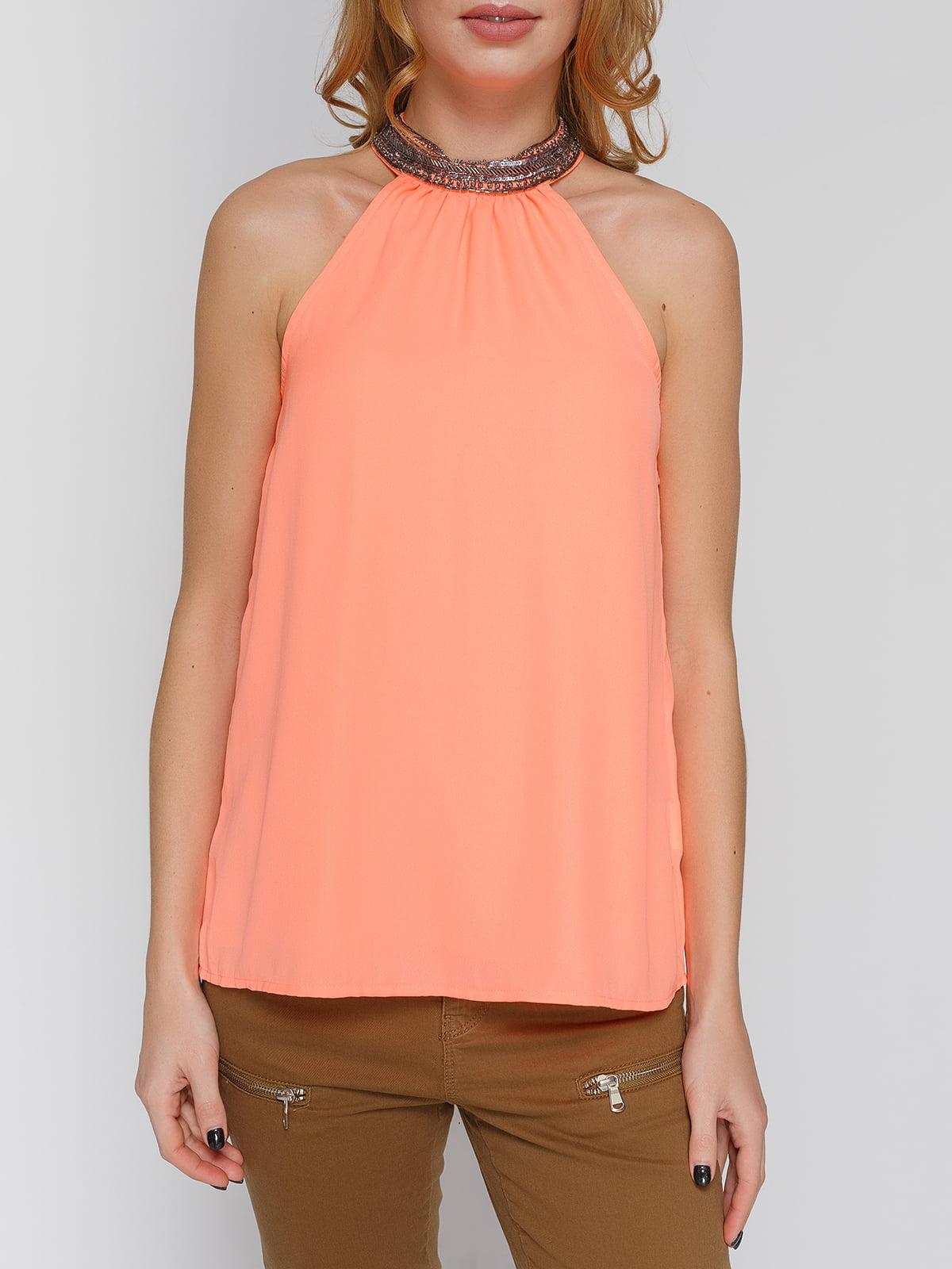 Блуза персикового цвета   4628343   фото 3