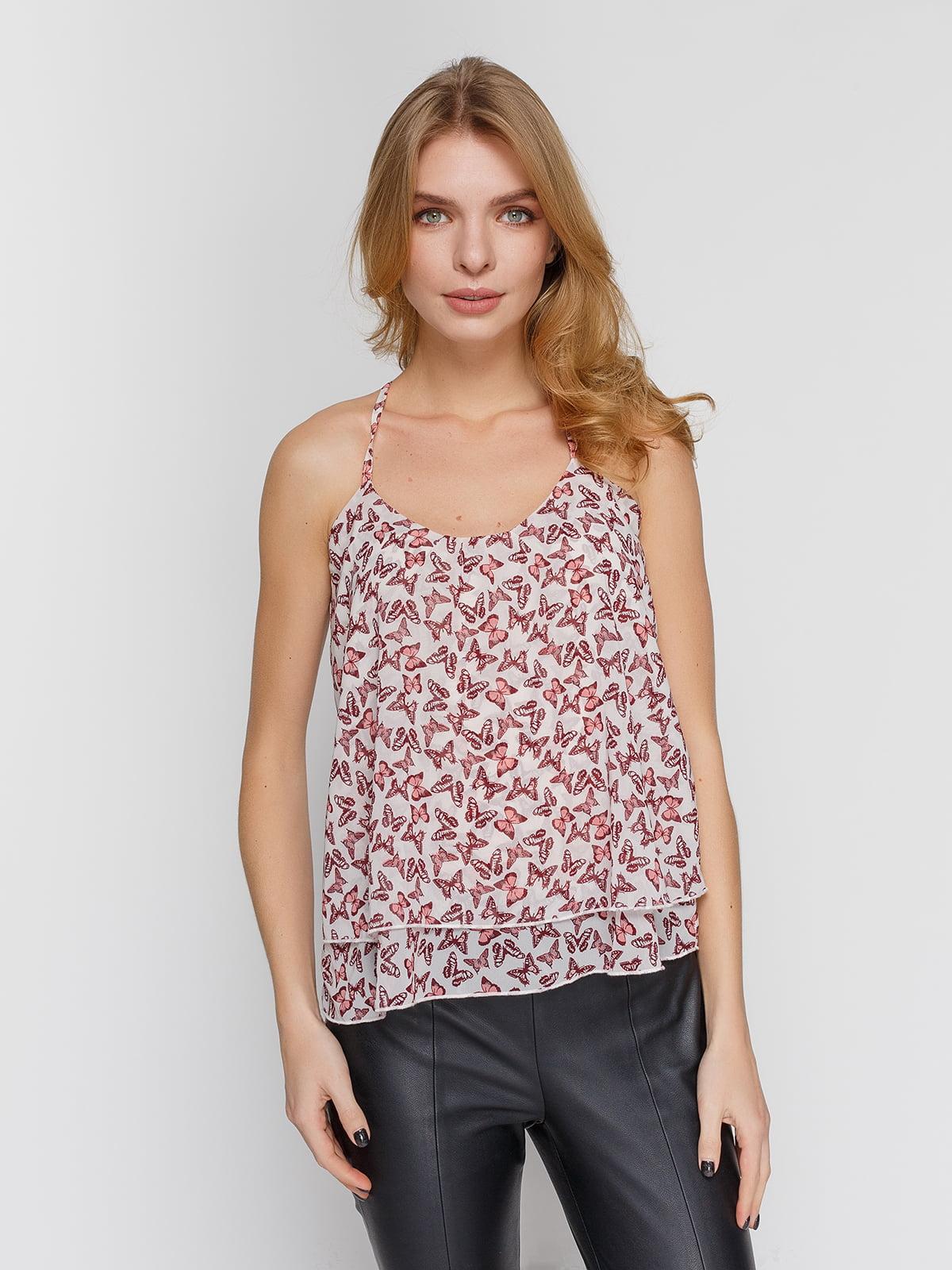 Блуза в принт | 4634575