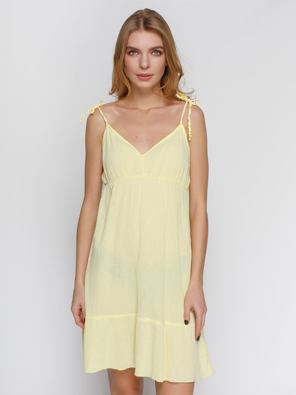 Платье желтое   4632662