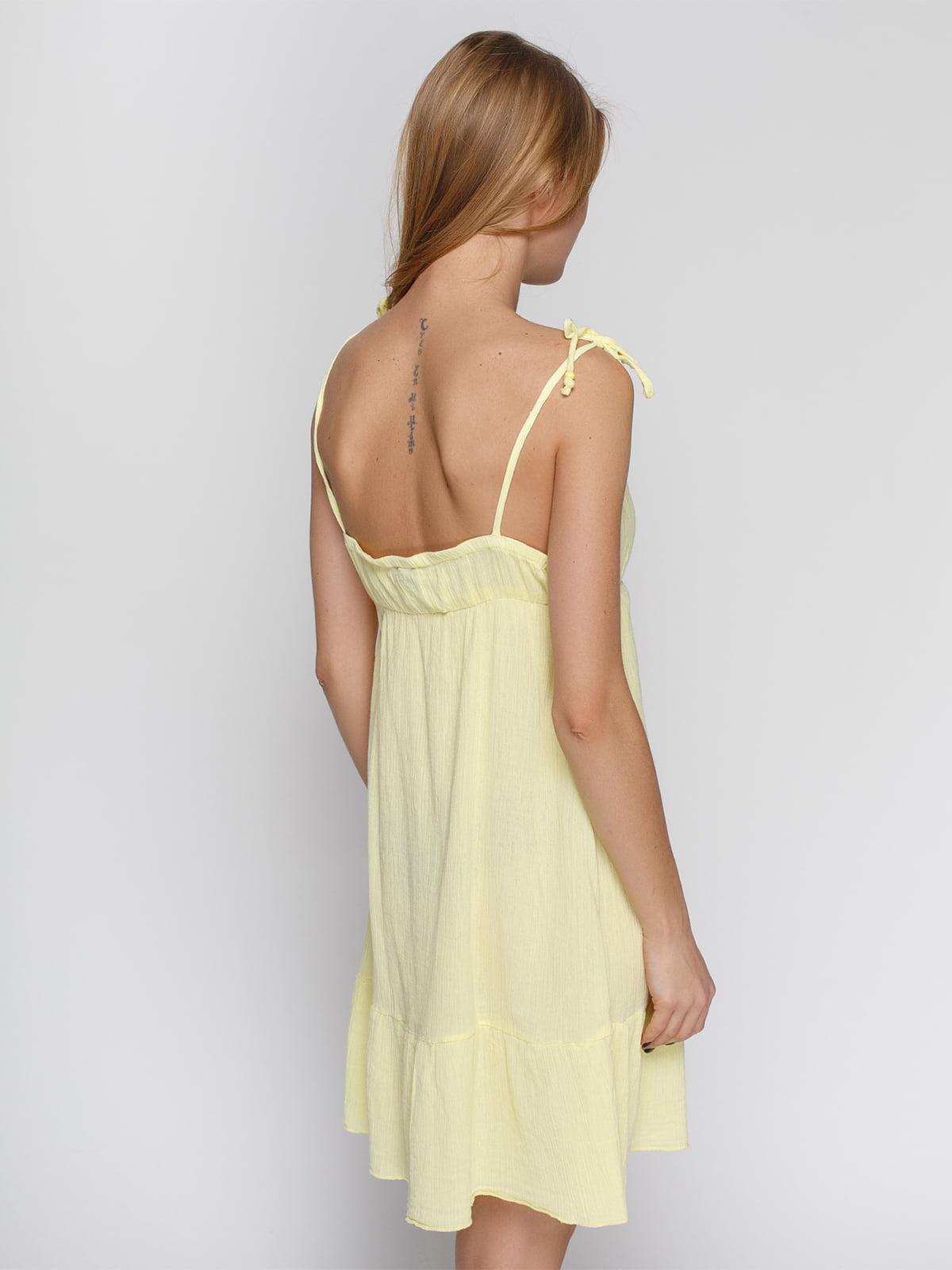 Платье желтое   4632662   фото 2