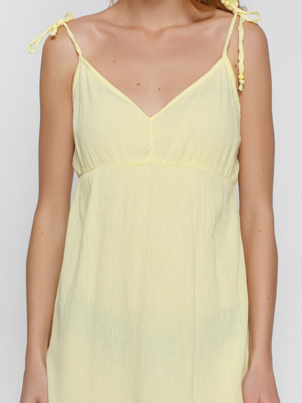 Платье желтое   4632662   фото 3