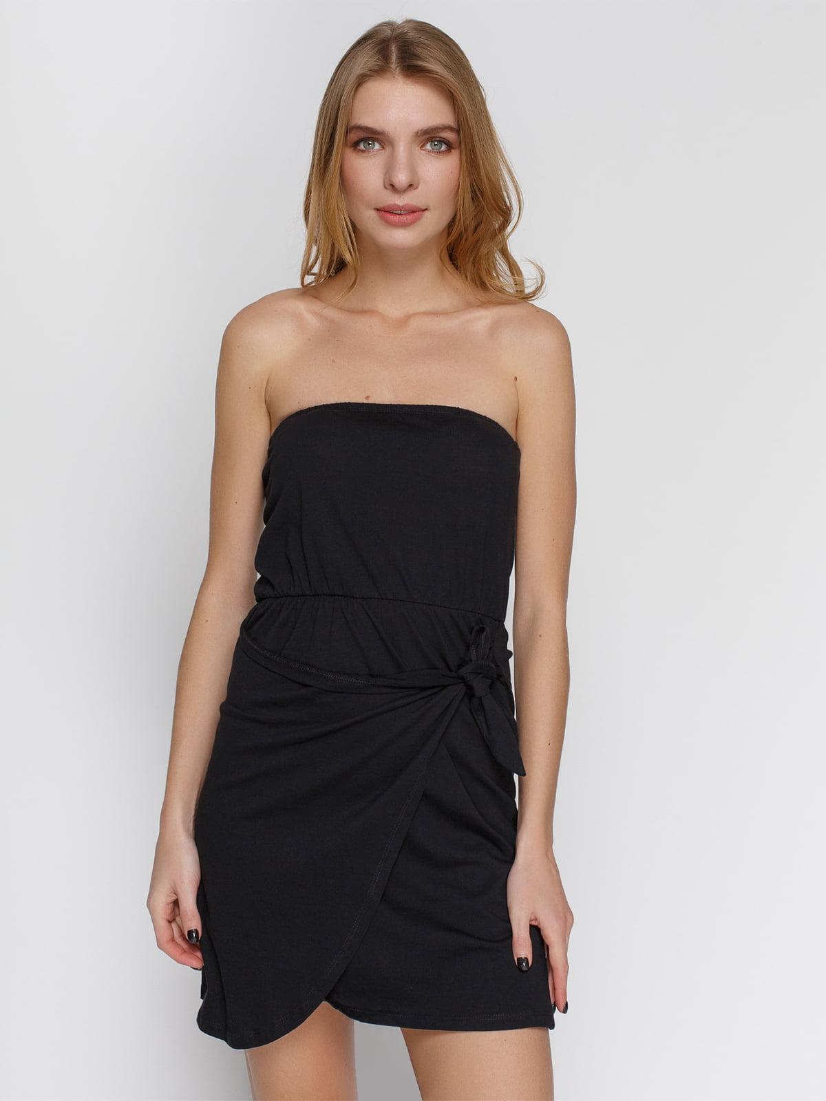 Платье черное | 4632649