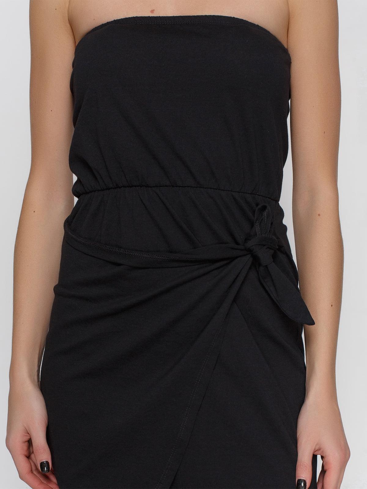 Платье черное | 4632649 | фото 3
