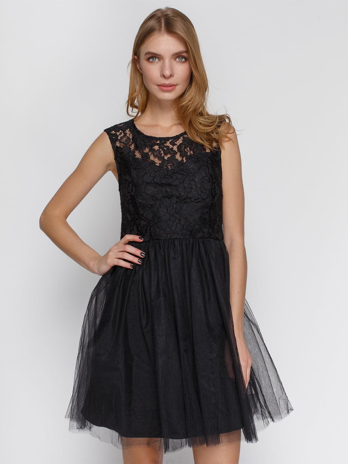 Платье черное | 4543781